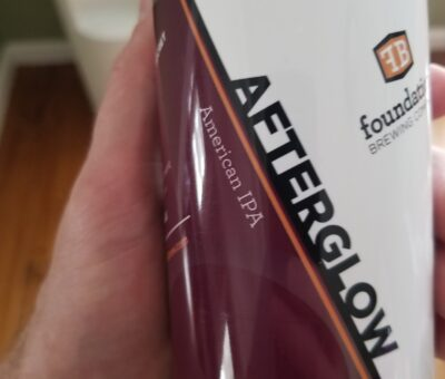 Afterglow IPA Beer Review